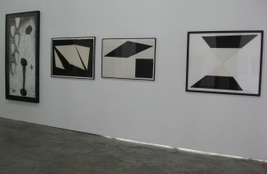Works by EFA artists Dane Goodman and Donald Alberti